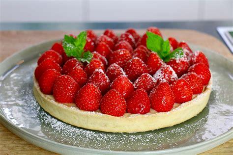 la cuisine de aux fraises tarte aux fraises facile en 3 é hervecuisine com