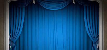 Stage Curtain Background Drapes Poster