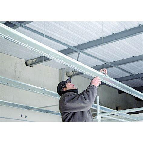 syst 232 me d ossature en acier pour plafond suspendu longue port 233 e placo