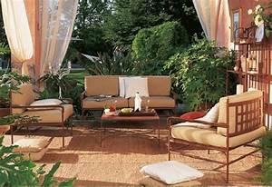 Salon De Jardin Fer Forgé Occasion : mobilier exterieur maroc ~ Teatrodelosmanantiales.com Idées de Décoration