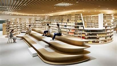 Library Japanese Architecture Kikuchi Award Nomura Central
