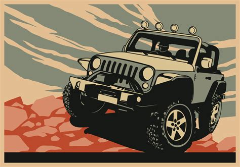 jeep vector jeep free vector art 3571 free downloads