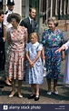 Zara Phillips with mother Princess Royal and grandmother ...