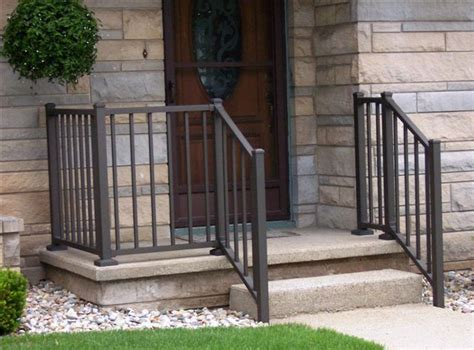 Small Stair Railing by Westbury Aluminum Railing Is A Great Compliment To Your