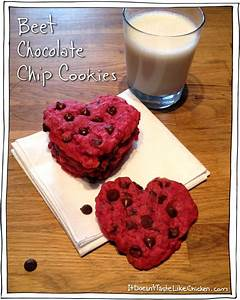 Beet Chocolate Chip Cookies - Easy Valentine's Day Recipe