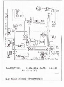 1978 F150 351m Vacuum Diagram Needed