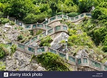 Steps to the Schlossberg, Graz, Styria, Austria Stock ...