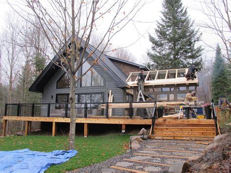 building a sunroom building our cottage snowroom i sunroom