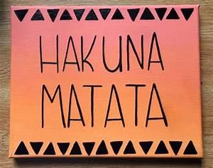 Hakuna Matata L... Lion Sign Quotes