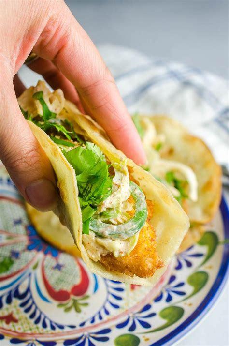 fish tacos  coleslaw recipe fried fish tacos life