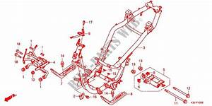Frame Body For Honda Pcx 125 2017   Honda Motorcycles