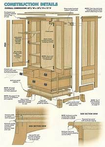 armoire furniture plans Roselawnlutheran