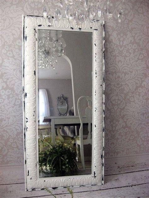 shabby chic mirrors white 30 inspirations of shabby chic white mirrors