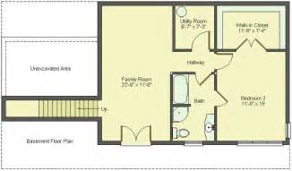 House Plans with Finished Basement Floor