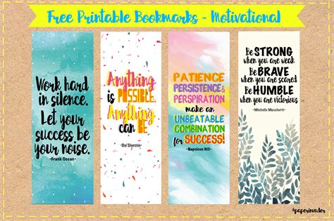 free printable bookmarks paper invader free printable bookmarks quotes