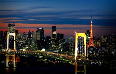 Skyline Tokyo Hd Wallpaper High Definitions Wallpapers