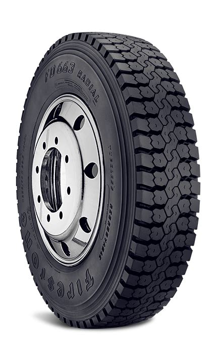 Firestone Fd663  Gcr Commercial Tires