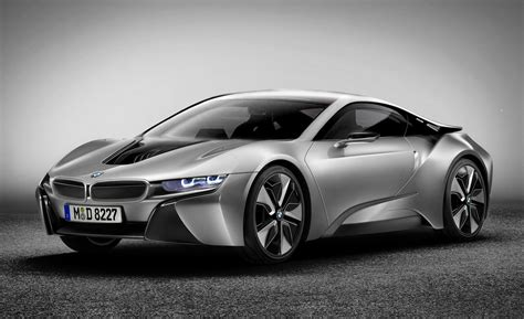 sport car garage bmw i8 coupe 2014