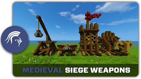 siege minecraft minecraft building tutorial how to build siege