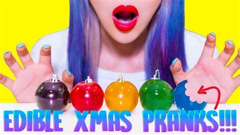 diy edible christmas pranks     friends