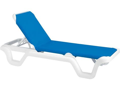 chaise solde grosfillex marina resin adjustable sling chaise sold in 2