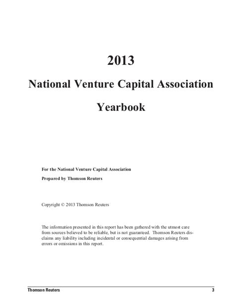 NVCA Yearbook 2013: US National Venture Capital ...