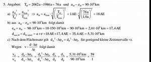 Ellipse Fläche Berechnen : ellipse um das wie viel fache ist der komet schneller ~ Themetempest.com Abrechnung