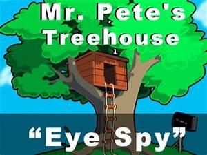 Eye Spy | Mr. Pete's Treehouse | Kids Videos ...