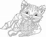 Coloring Yarn Pages Disney Getdrawings Getcolorings sketch template