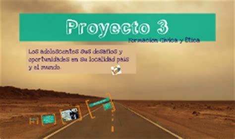 Proyecto 3:Los Adolecentes: sus desafios y oportunidades