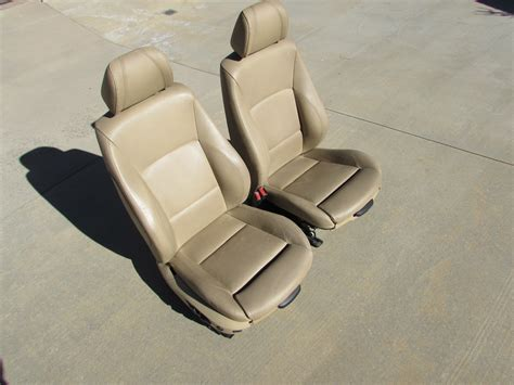 Bmw Front Sport Seats Electric W/ Memory (pair