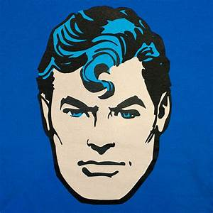 Superman Face Flip-Up Reversible T-Shirt | SuperheroDen.com