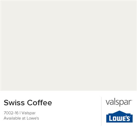 Get free shipping on qualified swiss coffee paint colors or buy online pick up in store today in the paint department. Swiss Coffee from Valspar | Valspar, Nursery paint colors