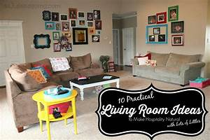 10 Practical Living Room Ideas to Make Hospitality Natural