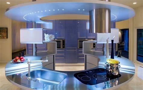 cuisine futuriste cuisines high tech cuisines de rêve