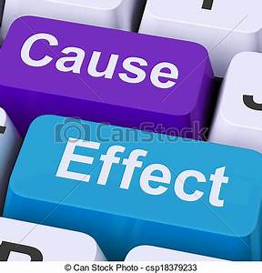 Stock Photos of Cause Effect Keys Means Consequence Action ...