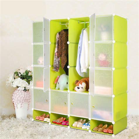 assemble plastic portable wardrobe closet folding wardrobe