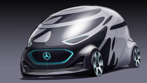 mercedes    autonomous electric pod concept top gear