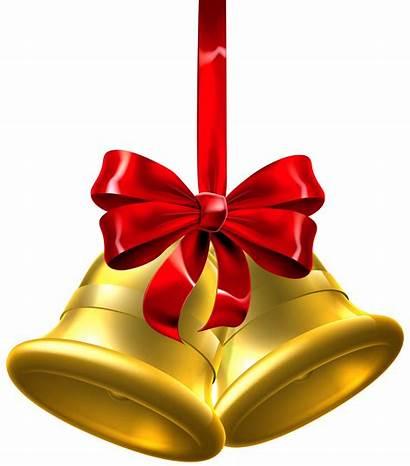 Bells Bell Transparent Clipart Jingle Clip Ribbon