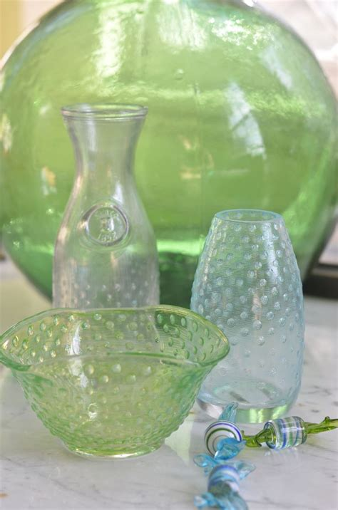 hometalk diy hobnail glass