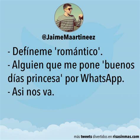 Defíneme 'romántico'  Alguien Que Me Pone 'buenos Días