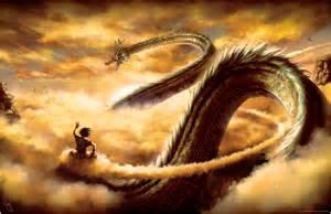 Realistic Dragon Flying