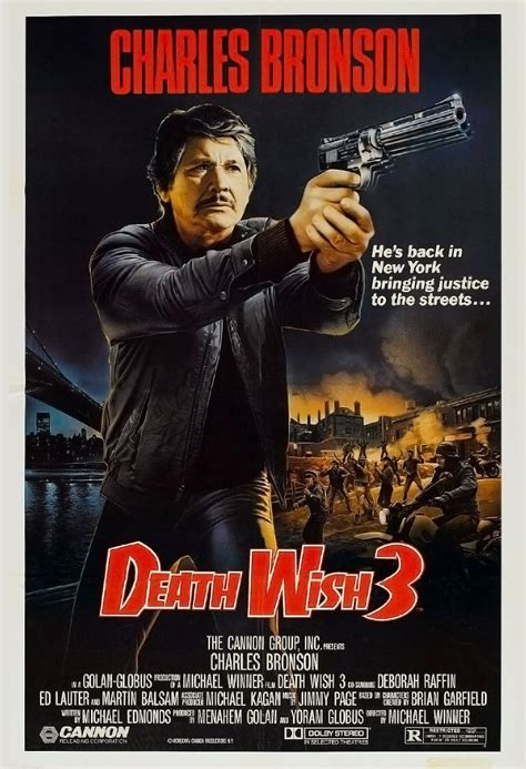 It gives us charles bronson in a role that. Watch Death Wish 3 (1985) Free Online