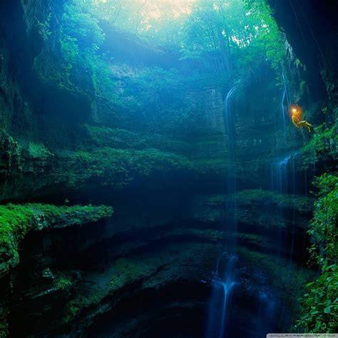 cave, Water, Exploring Wallpapers HD / Desktop and Mobile ...