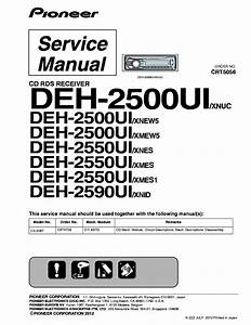 Pioneer Deh 4400hd Wiring Diagram