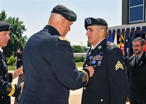 "Fort Campbell's 2nd Brigade Combat Team ""strike"" Soldier Presented With The Distinguished"