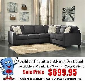 Ashley Furniture 16601 Alenya Sectional Living Room