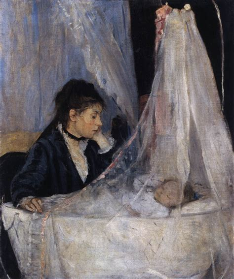 La Berthe Morisot by Morisot Berthe