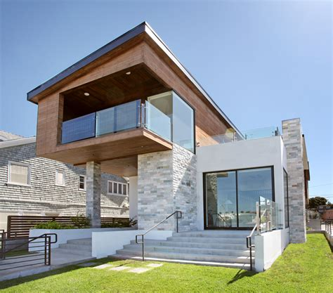 modern mansions front view zion modern house