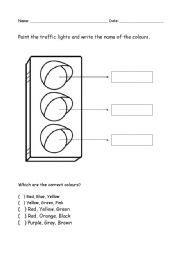 11 best images of printable worksheets on light